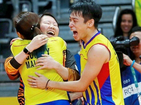 Eei Hui Bergabung Dengan Chan Peng Soon/Goh Liu Ying Menuju Olimpiade