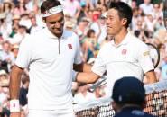 Kei Nishikori Akui Tak Bisa Bermain Seagresif Roger Federer