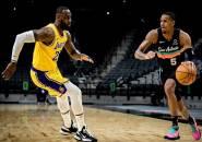 Los Angeles Lakers Permalukan San Antonio Spurs Lagi
