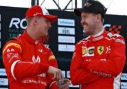 Mick Schumacher Antusias Untuk Berduel Dengan Sebastian Vettel