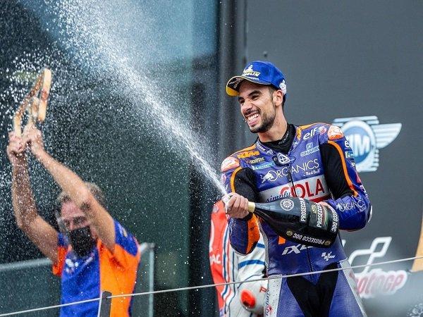 Herve Poncharal yakin Miguel Oliveira bisa lebih garang dengan skuat pabrikan KTM.