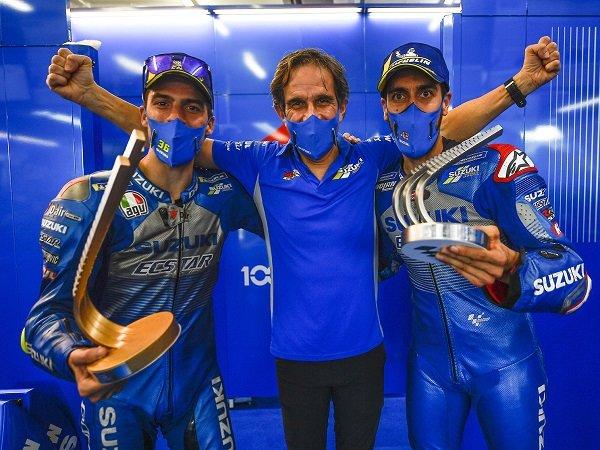 Davide Brivio akui adanya kesulitan finansial di tim Suzuki.