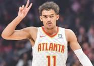 Hawks Putus Empat Kekalahan Beruntun Usai Kalahkan Sixers