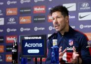 Jelang vs Sevilla, Simeone Fokus Latihan Enggan Pikirkan Penangguhan Laga