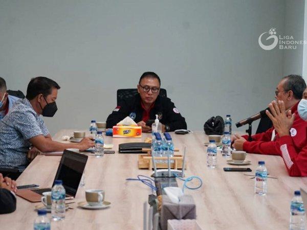 Rapat antara PSSI dan PT. LIB