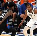 Durant Kembali Pimpin Brooklyn Nets Taklukkan New York Knicks