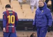 Lionel Messi Dapat Kartu Merah, Begini Komentar Koeman
