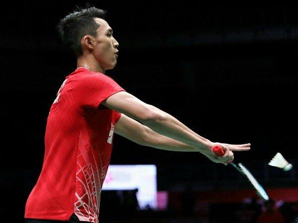 Jonatan Christie Selesai di Babak Pertama Toyota Thailand Open