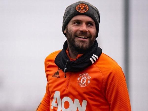 Playmaker Manchester United, Juan Mata.