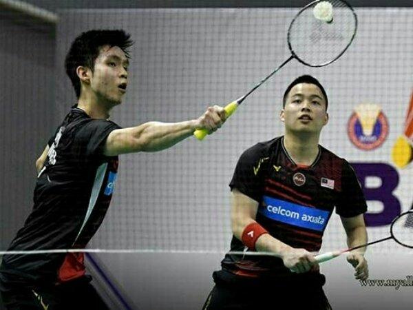 Aaron dan Wooi Yik Lolos Semifinal Toyota Thailand Open