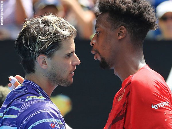 Gael Monfils [kanan] bekerja sama dengan pelatih baru jelang Australian Open 2021