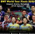 Indonesia Loloskan Lima Wakil ke BWF World Tour Finals 2020