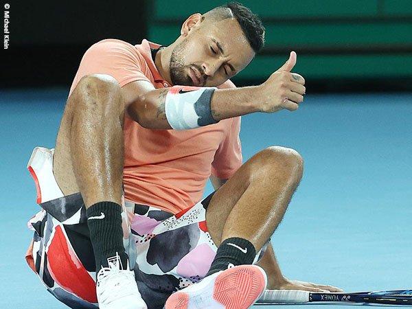 Nick Kyrgios merasa lebih aman dengan protokol kesehatan yang diterapkan pihak Australian Open 2021