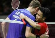 Victor Axelsen Satu Grup Dengan Anthony Ginting di World Tour Finals