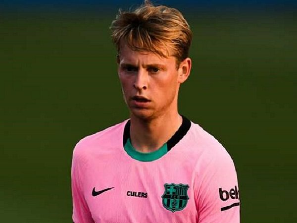Gelandang Barcelona, Frenkie De Jong. (Images: Getty)