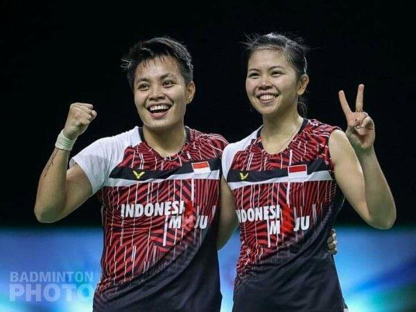 Greysia dan Apriyani Pecahkan Rekor World Tour Finals