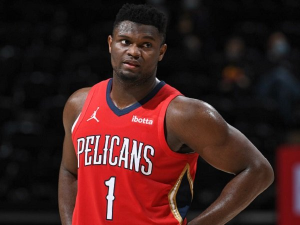 Bintang muda New Orleans Pelicans, Zion Williamson.