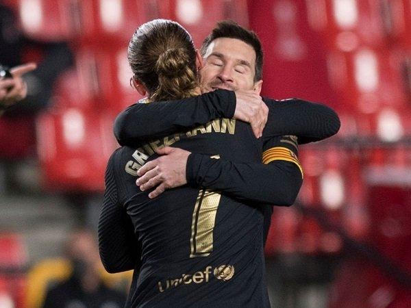 Antoine Griezmann sebut Lionel Messi sebagai legenda.