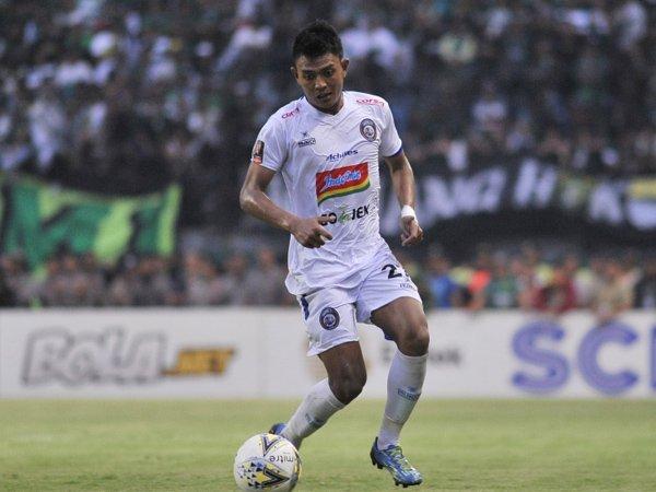 Penyerang Arema FC, Dedik Setiawan