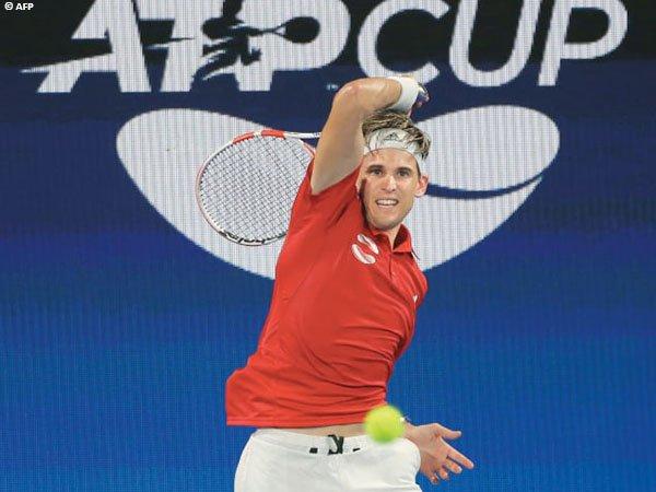 Dominic Thiem optimis dengan peluang Austria di ATP Cup 2021