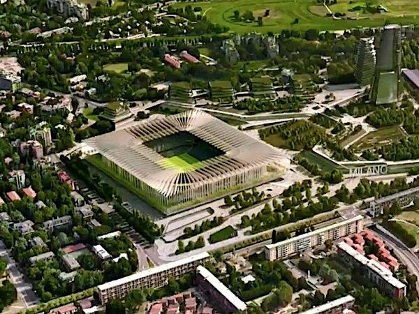Desain stadion baru Milan dan Inter New San Siro