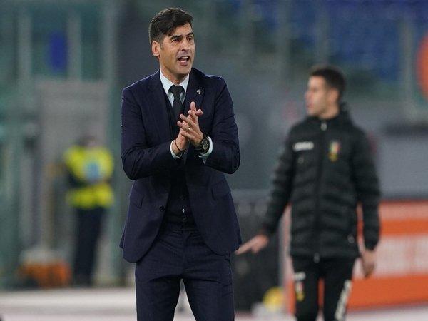 Paulo Fonseca sangat puas dengan performa AS Roma yang baru saja menang 3-1 atas Hellas Verona (1/2) / via Getty Images