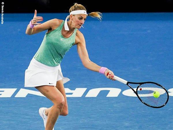 Petra Kvitova melaju ke babak ketiga Yarra Valley Classic 2021