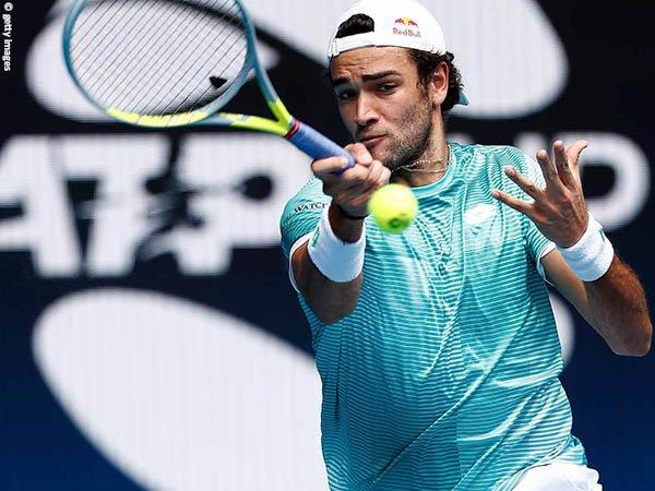Matteo Berrettini turun di nomor tunggal dan ganda ketika melawan Austria di ATP Cup 2021
