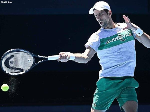 Novak Djokovic termotivasi salah satunya dengan bermain di hadapan para penonton