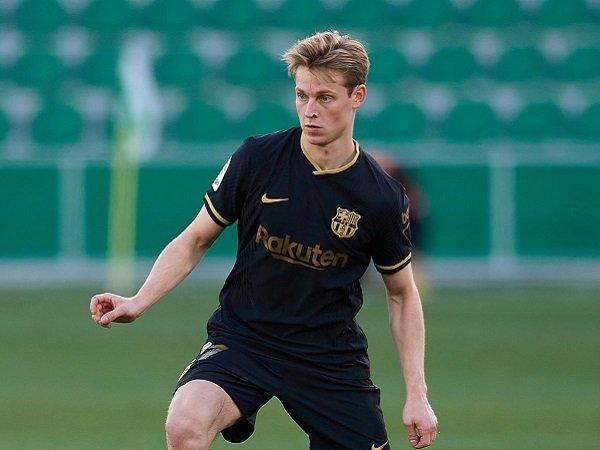 Frenkie de Jong masih ingin lebih baik lagi untuk Barcelona.