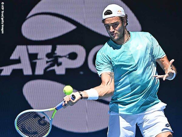 Matteo Berrettini tampil meyakinkan ketika mengalahkan Gael Monfils di fase grup ATP Cup 2021