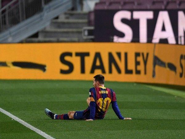 Lionel Messi masih belum menandatangani kontrak baru bersama Barcelona.