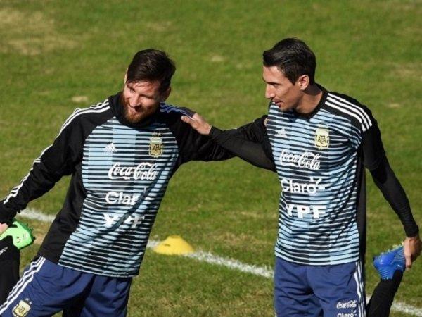 Angel Di Maria percaya diri bisa bawa Lionel Messi ke PSG
