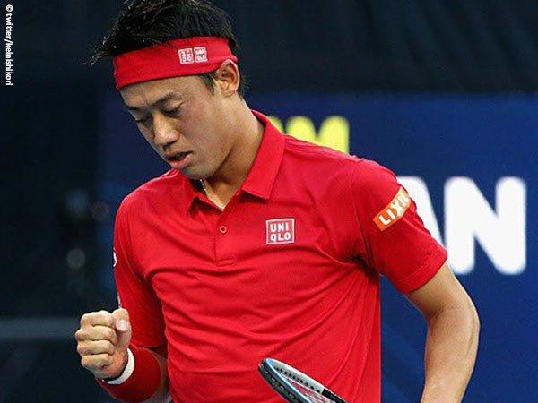 Kei Nishikori belum mempersembahkan kemenangan bagi Jepang di ATP Cup 2021
