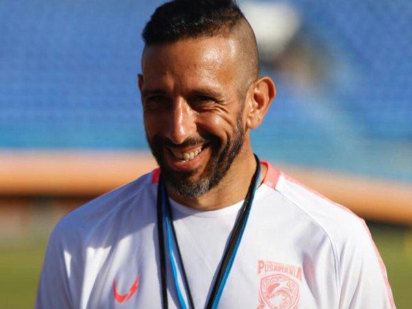 Pelatih fisik Borneo FC, Marcos Gonzales