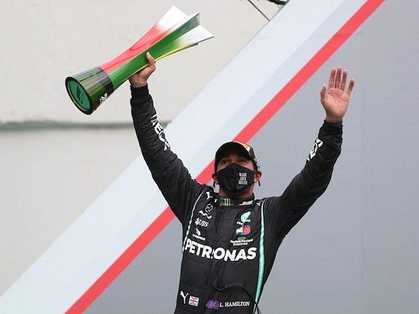 Lewis Hamilton masih bersemangat tambah pundi-pundi gelarnya.