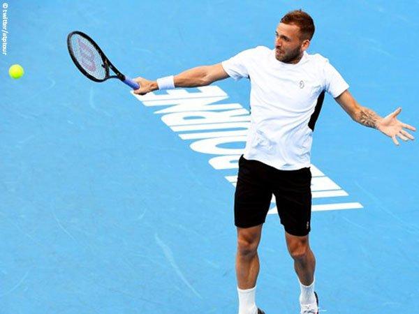 Dan Evans melangkah ke semifinal Murray River Open