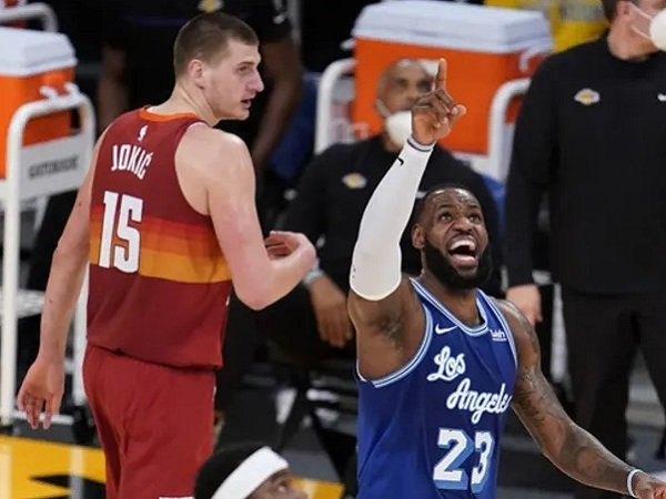 Bintang Los Angeles Lakers, LeBron James.