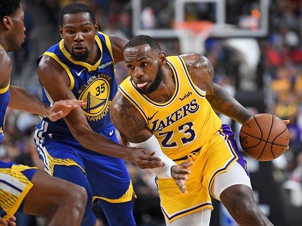 LeBron James dan Kevin Durant jadi pemain dengan voting terbanyak untuk All-Star Game.