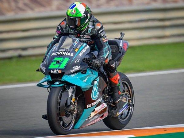 Franco Morbidelli siap maksimalkan potensi motor lawas dari Yamaha.
