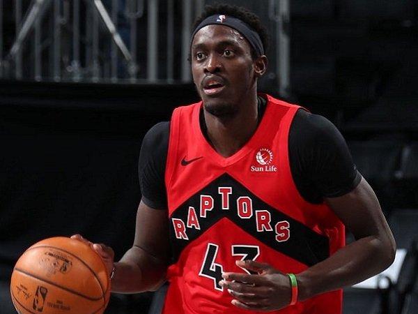 Pemain Toronto Raptors, Pascal Siakam.