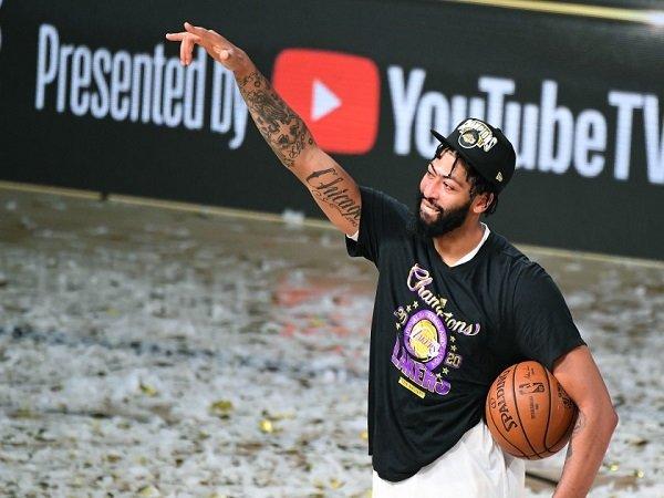 Anthony Davis belum puas dengan satu gelar juara NBA.