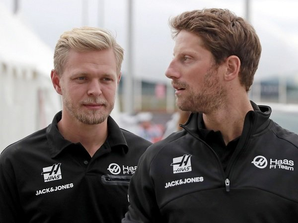 Romain Grosjean dan Kevin Magnussen