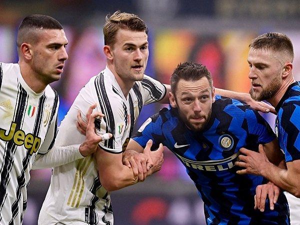 Juventus menjamu Inter Milan pada leg kedua semifinal Coppa Italia.