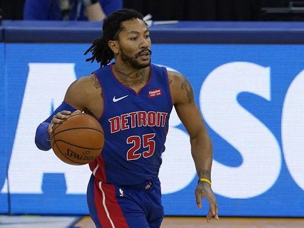 Point guard Detroit Pistons, Derrick Rose.
