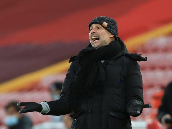 Guardiola Akui City Dapat Keuntungan dengan Kondisi Anfield yang Kosong