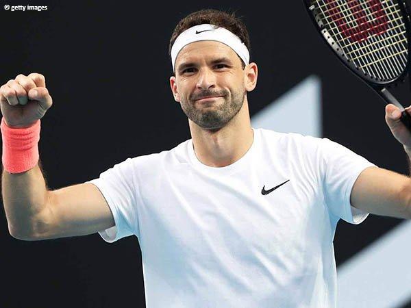 Grigor Dimitrov melenggang ke babak kedua Australian Open 2021