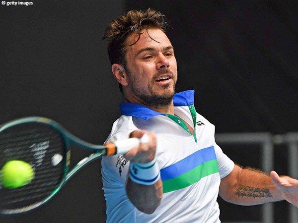 Stan Wawrinka ciptakan 12 break point di sepanjang laga babak pertama Australian Open 2021