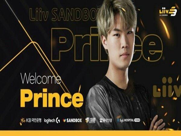 Kembali ke Korea, Prince Gabung Tim LCK Liiv SANDBOX