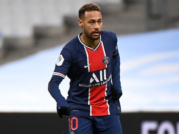 Striker Paris Saint-Germain, Neymar.